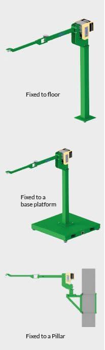 Liftronic Easy & Pro column mounted